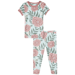 Kickee Pants - Sports and Active Careers Collection - Pajama Set - Fresh Air Florist