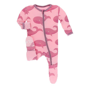 Kickee Pants - Oceanography Collection - Footie with Zipper– Lotus Whales