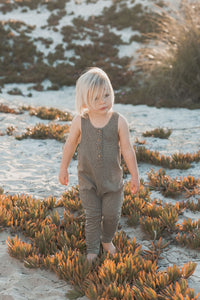 Rylee + Cru - Hometown Collection - Micro Dot Jumpsuit - FINAL SALE