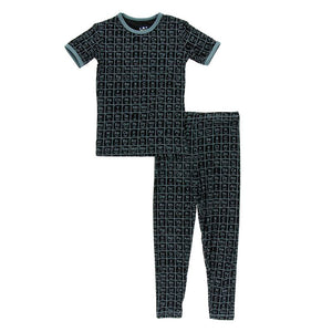 Kickee Pants - Astronomy and Chemistry- Pajama Set – Midnight Elements