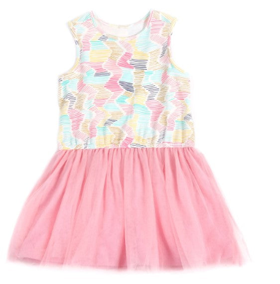 Egg By Susan Lazar Girls Nadia Dress Multi