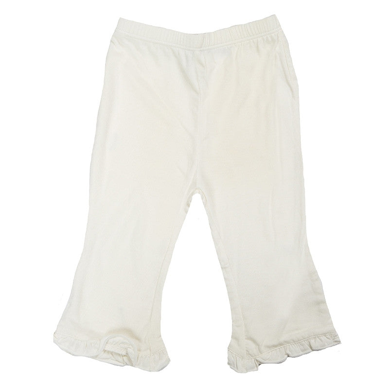 KicKee Pants - Fall 3 Natural Ruffle Pant  - 4T