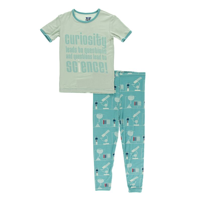 Kickee Pants - Astronomy and Chemistry- Pajama Set – Neptune Chemistry Lab