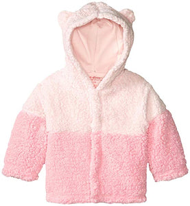 Magnetic Me Ombre Fleece Jacket -Pink