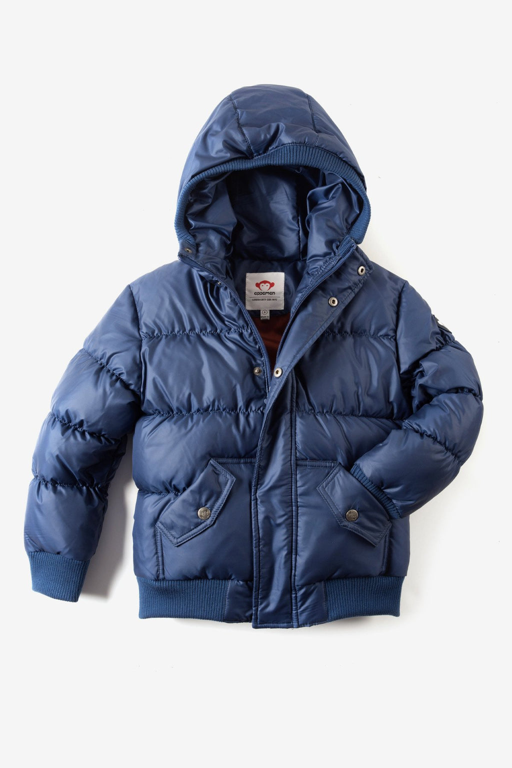 Appaman Boys' Puffy Coat - Navy Blue