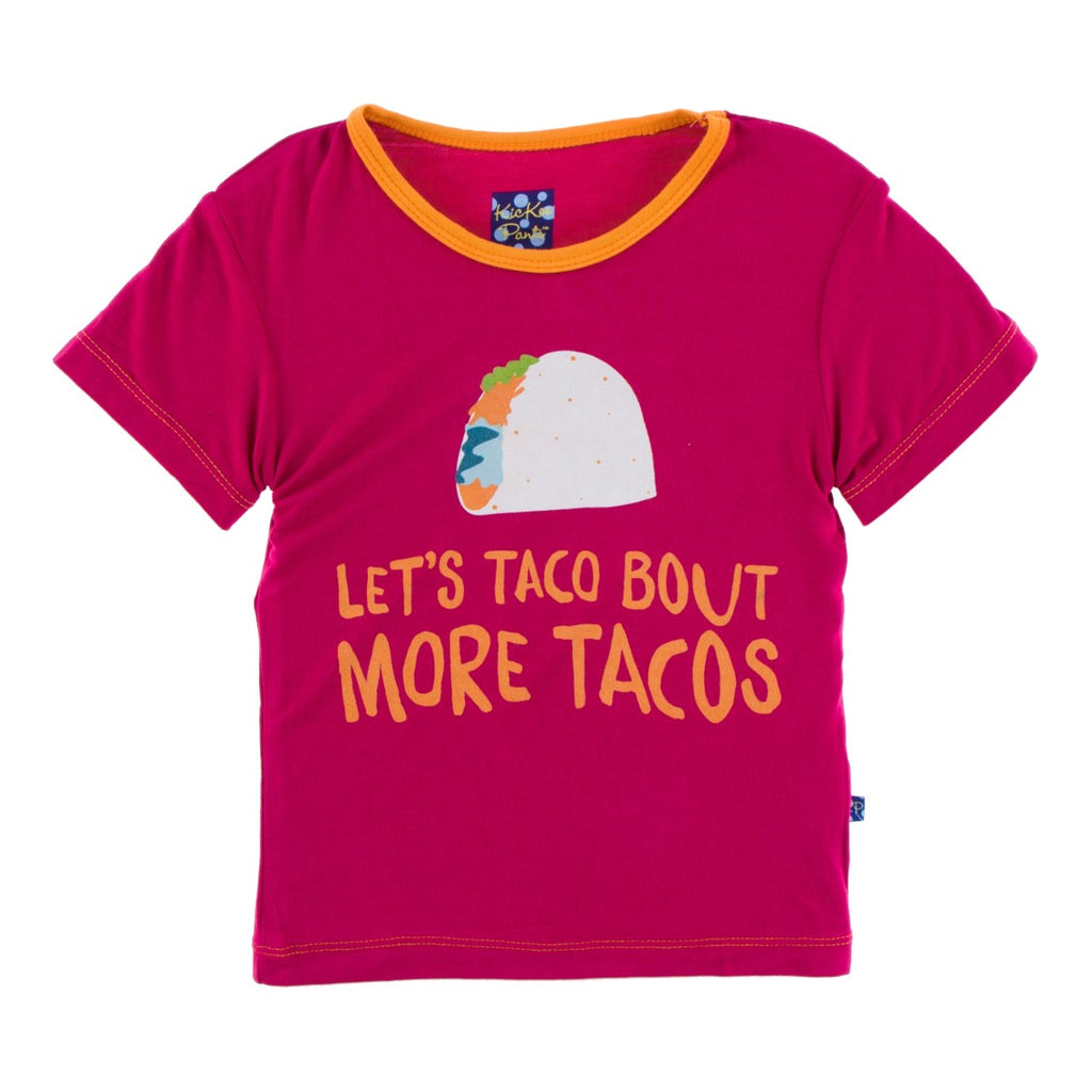 Kickee Pants - Cancun Collection - Print Tee – Rhododendron Let's Talk About More Tacos