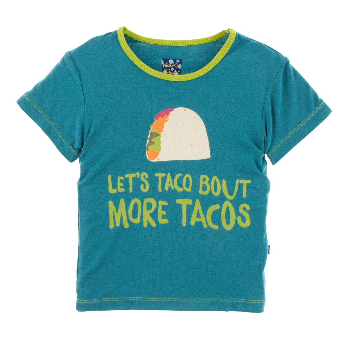 Kickee Pants - Cancun Collection - Print Tee – Seagrass Let's Talk About More Tacos