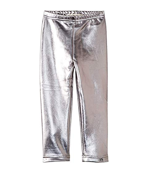 Appaman - Girls Metallic Leggings - Silver