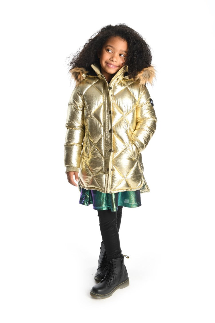 Appaman Sloan Puffer Coat - Gold