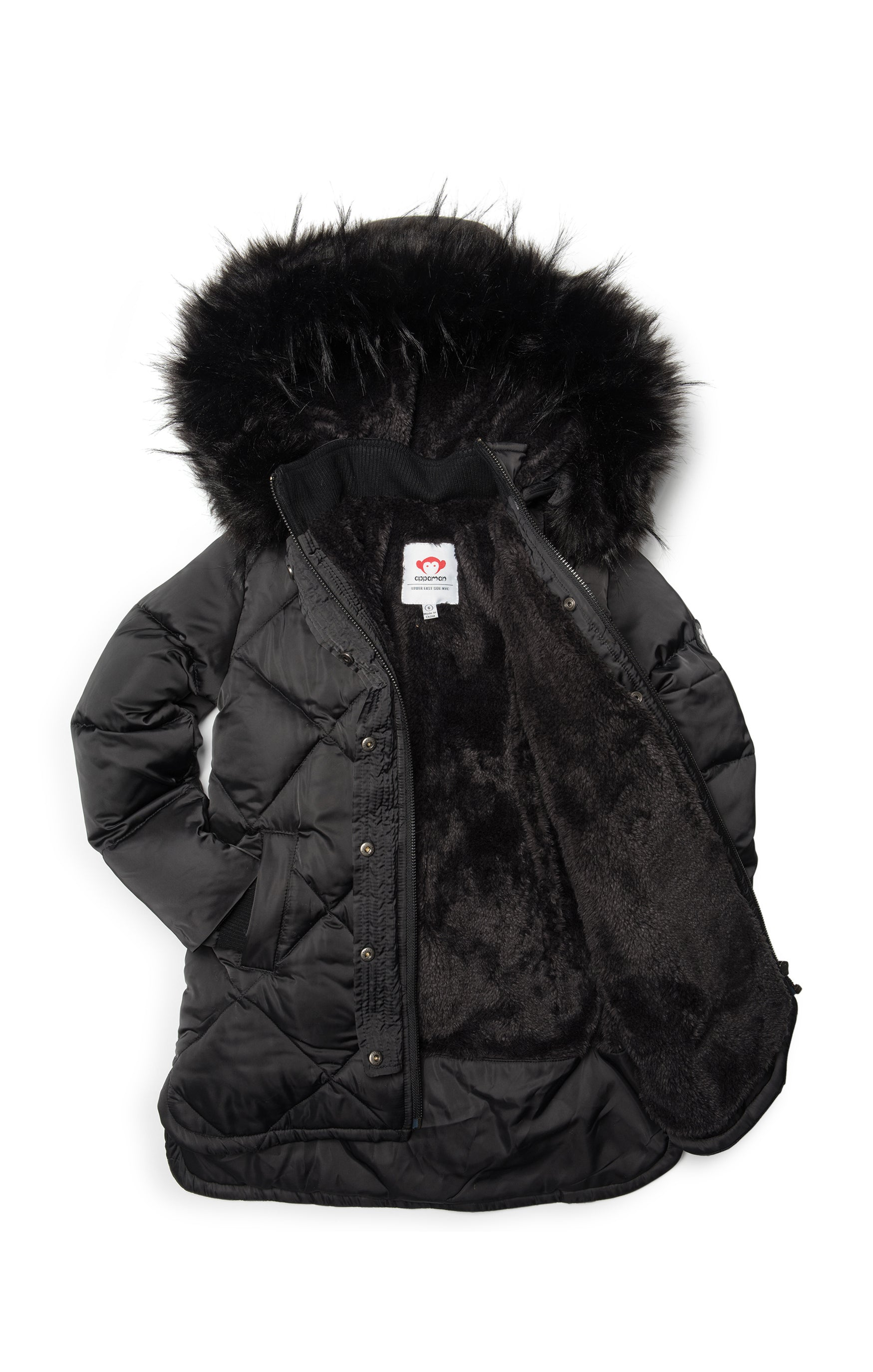 Appaman Sloan Puffer Coat - Black