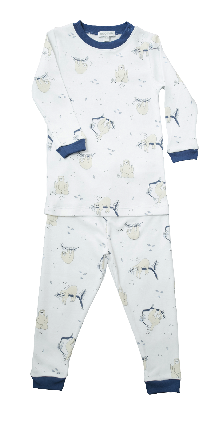 Noomie - Pajama Set - Sloth