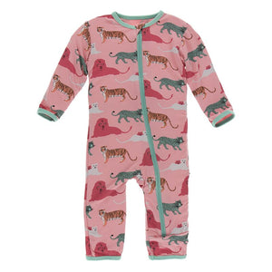 Kickee Pants - Zoology - Coverall with Zipper– Strawberry Big Cats