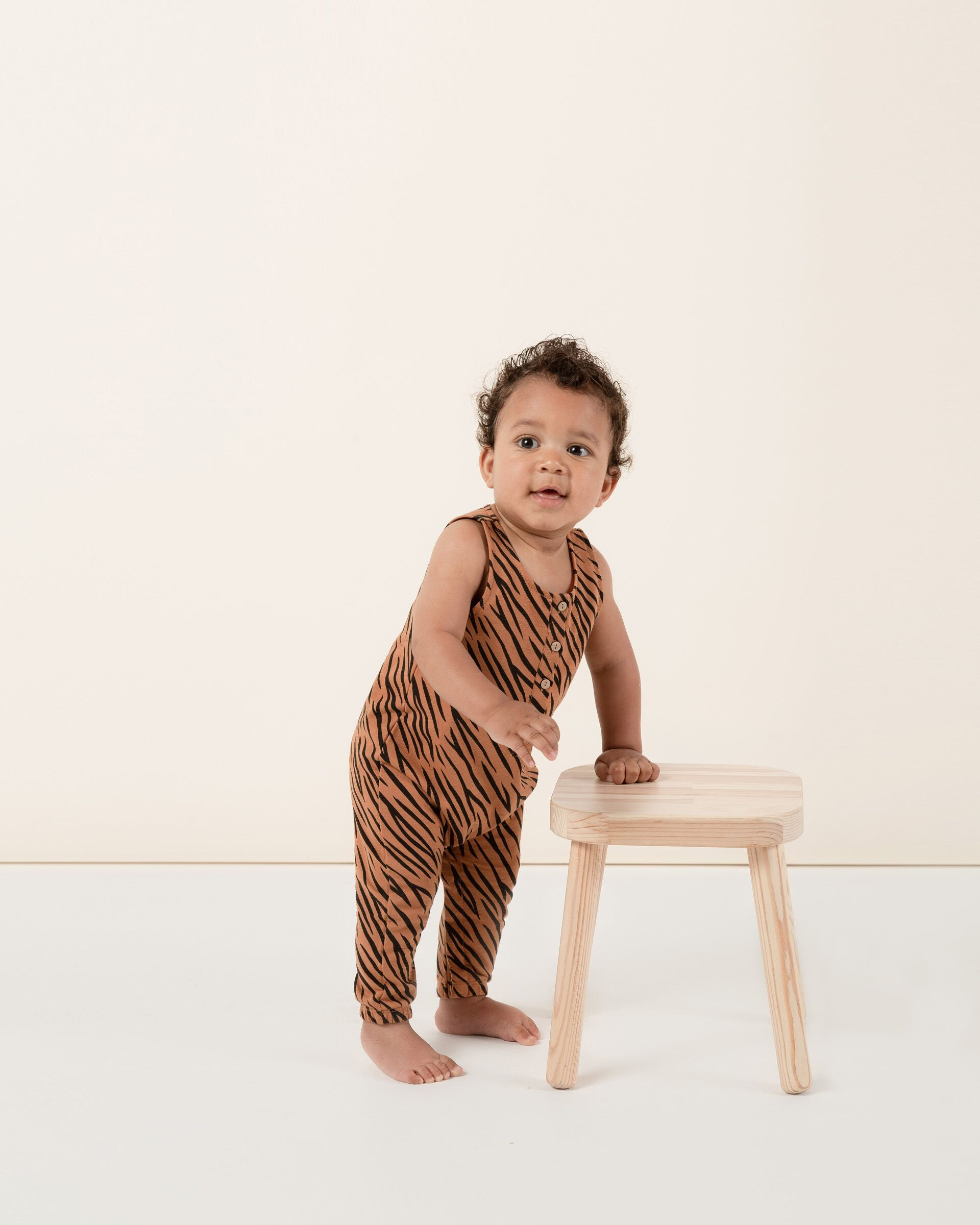 Rylee + Cru - Hometown Collection - Tiger Jumpsuit - FINAL SALE