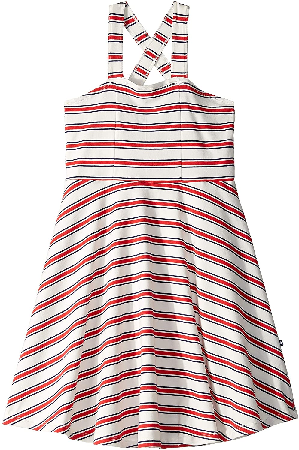 Toobydoo - Skater Dress - Red Stripes