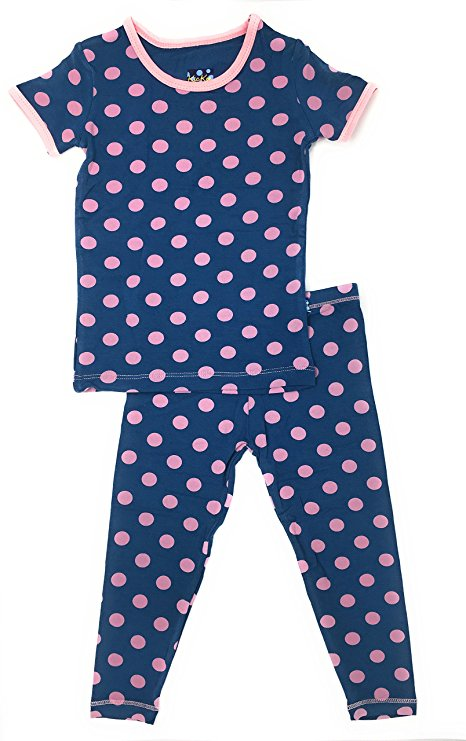 Kickee Pants - Spring 1 2018 - Pajama Set – Twilight Dot