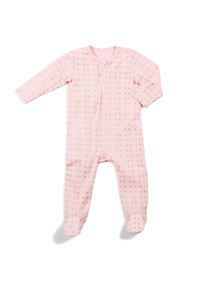 Egg by Susan Lazar - Classic Footie – Pink