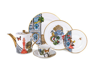 Spinocchia Freund X Mary Katrantzou Limited Edition 61 Piece Dinner Set