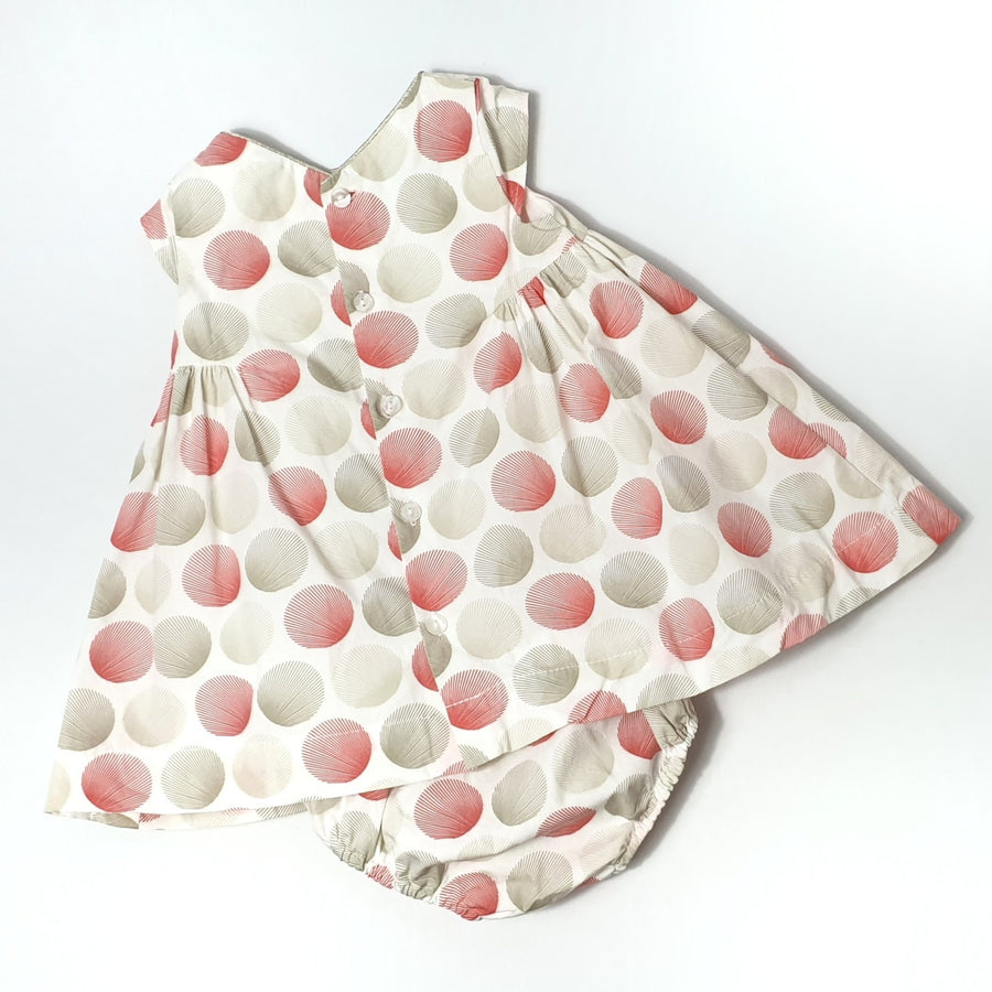 Polka Dot Dress with lining 3M (Pre-loved)