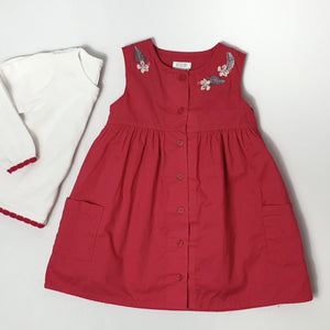 Button-up Dress 6-9M (Pre-loved)