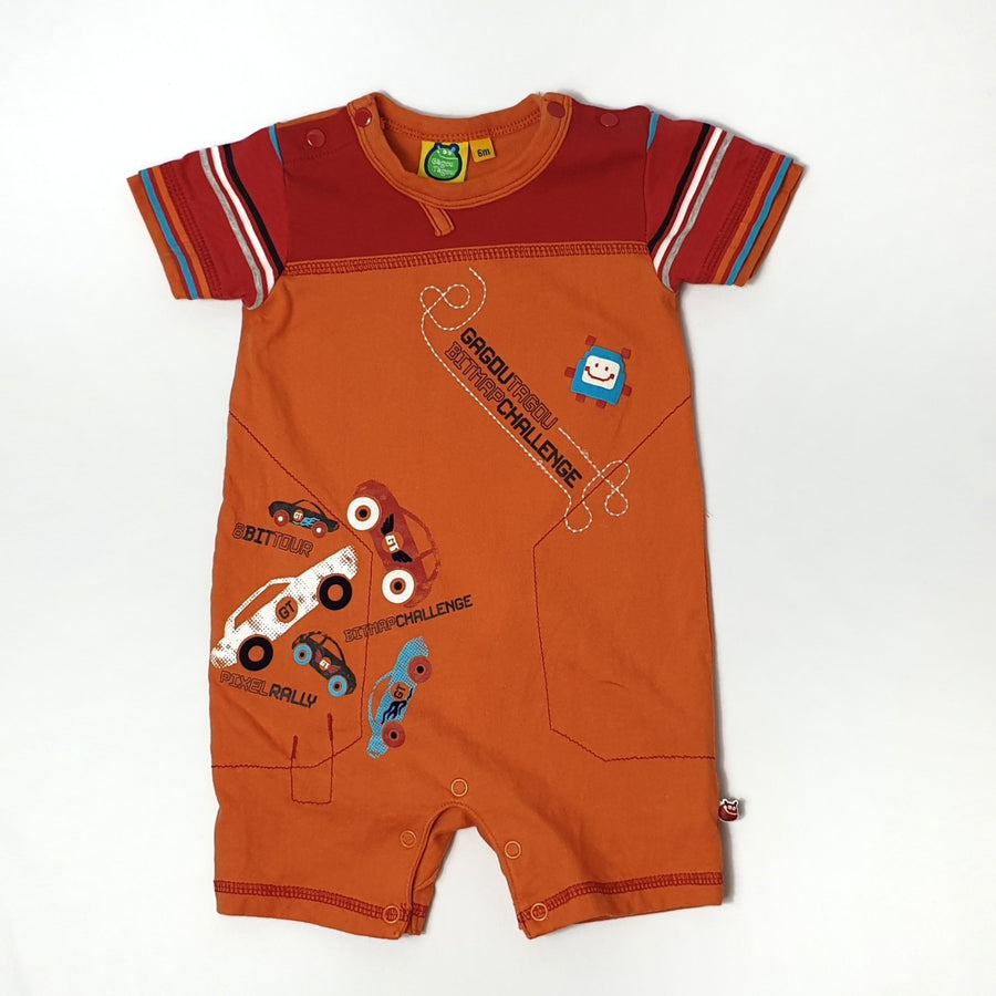 Colorful romper for baby boy 6M (Pre-loved)