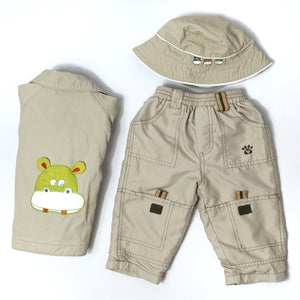 Great value mid-season jacket, pants and hat 6-12M (Pre-loved)