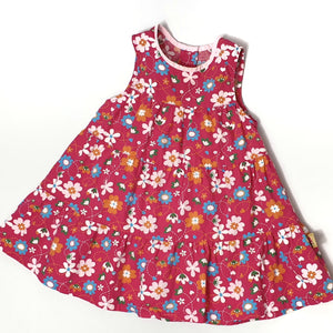 Flower dress 9-12M (Pre-loved)