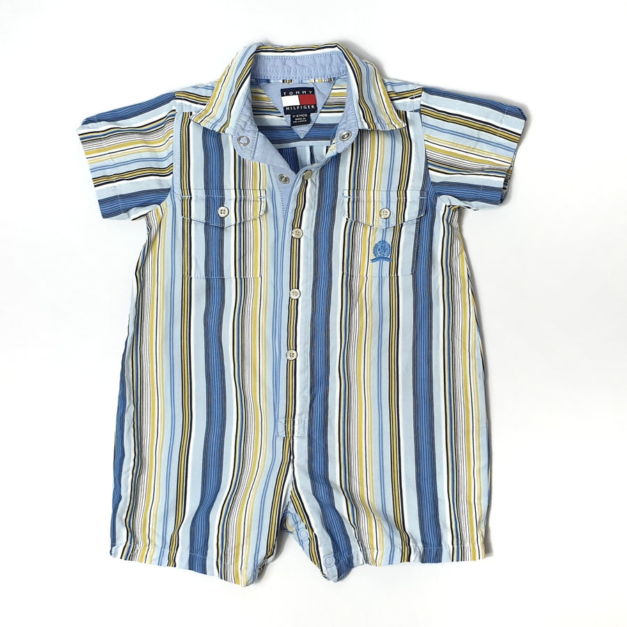 Striped romper for boy 3-6M (Pre-loved)