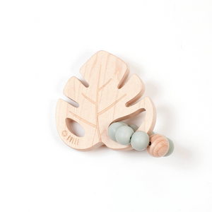 Leaf Rattle - Sage - Made in Canada