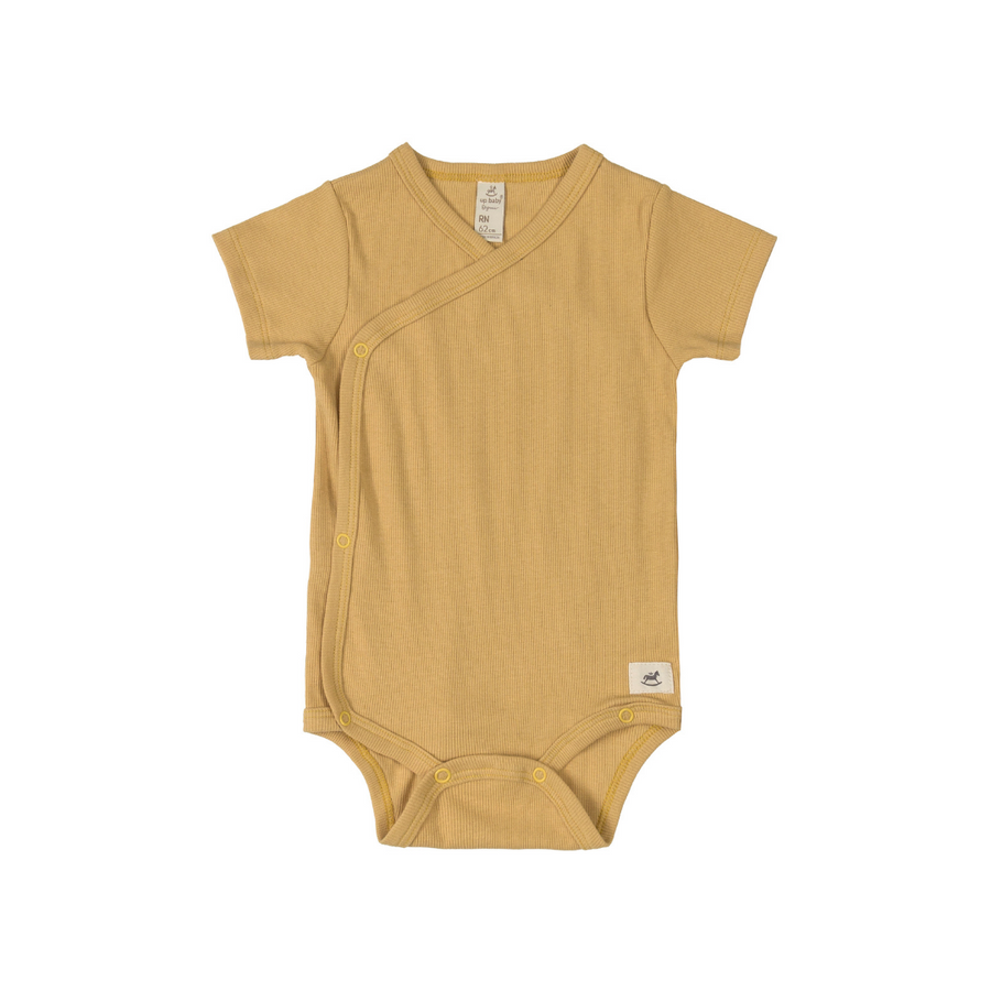 Natural Bodysuit - Wheat