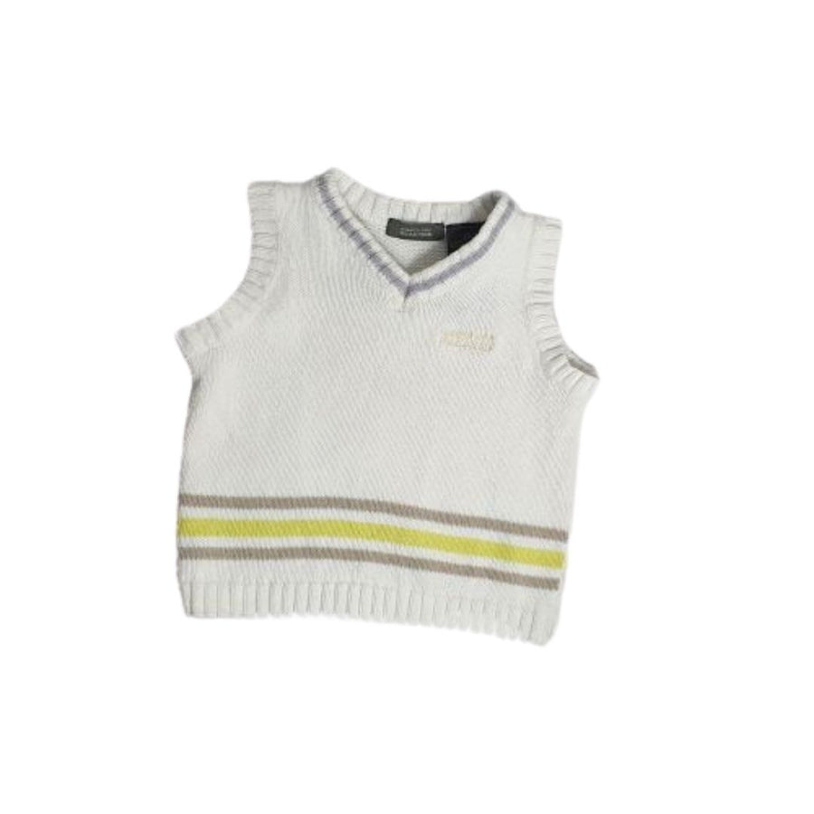 Knit vest for baby boy 18M (Pre-loved)