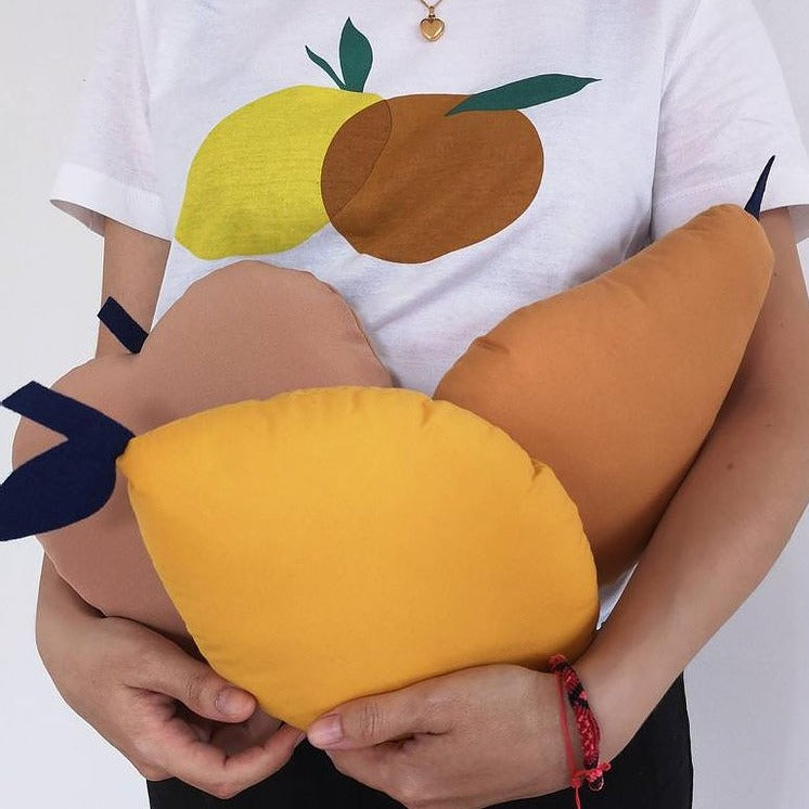 Fruit Pillows - Handmade in Montreal