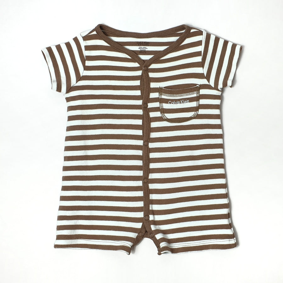 Striped romper for boy 6-9M (Pre-loved)