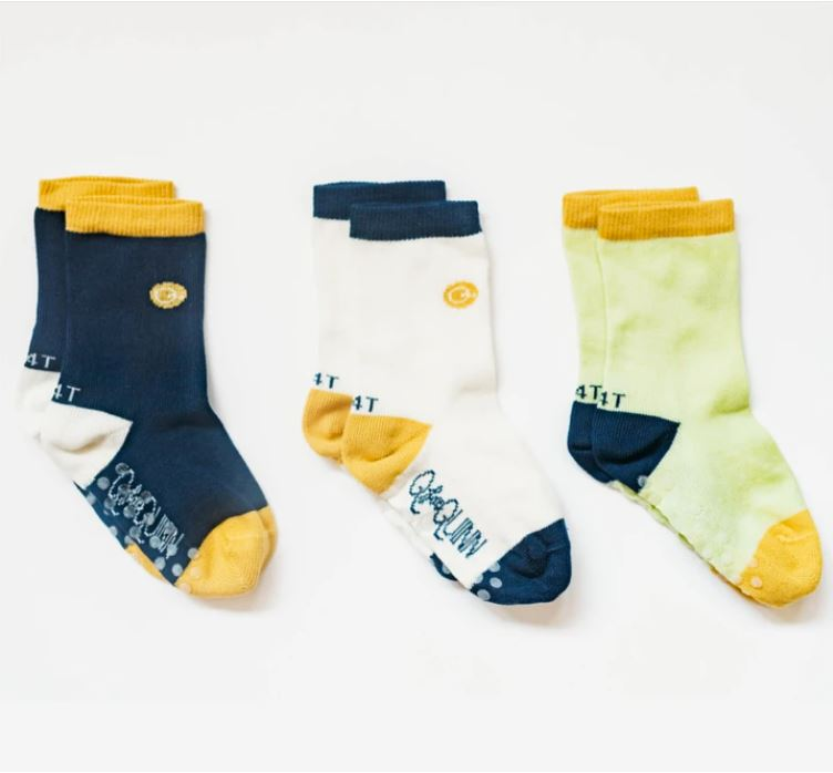 Organic Cotton Socks (3 Pairs) - Basics
