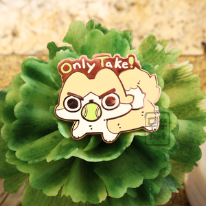 Only Take - Potato Enamel Pin
