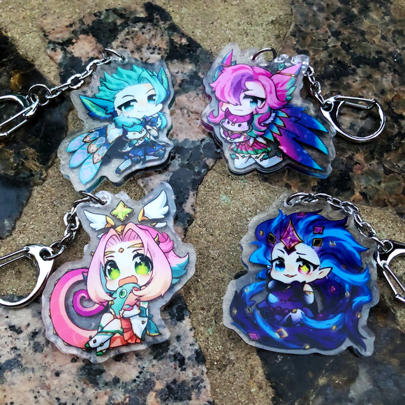 Acrylic Charms - Star Guardian Group 3