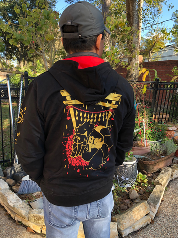 Shrine Fox Hoodie