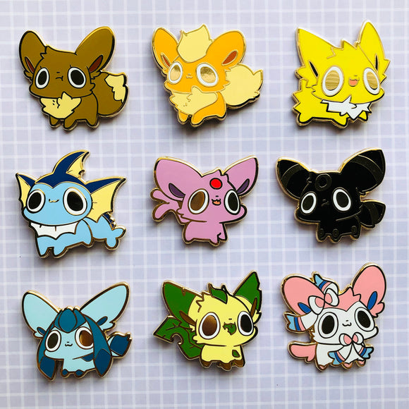 Enamel Pins -  Eeveelution