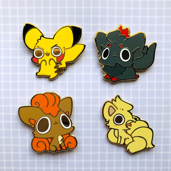 Enamel Pins - ETC Pokemon