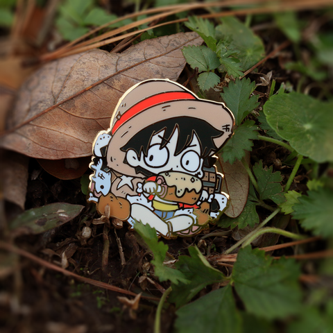 Enamel Pins - Luffy