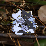 Enamel Pins - Artemis, Luna, and Diana