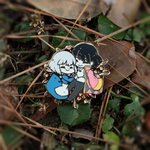 Enamel Pins - Sophie and Howl