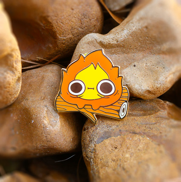 Enamel Pins - Calcifer
