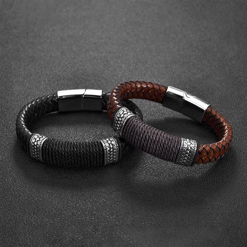 Genuine Leather Bracelet for Men - Pizarkle