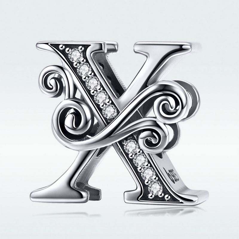 Sterling Silver A-Z Charms - Pizarkle