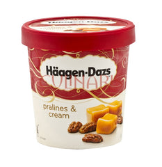 Haagen Dazs - Pralines & Cream 500ml
