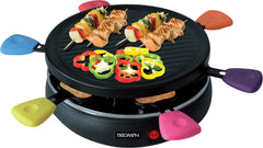 Raclette Grill 6 personnes 800w - Triomph