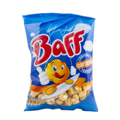 Pop Corn Caramel Baff 100g