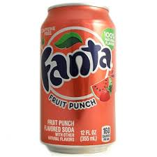 Fanta Fruit Punch 33cl