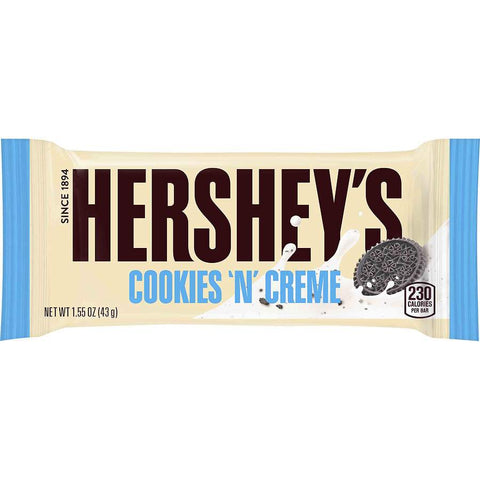 Barre Cookies And Creme 43g - Hershey's