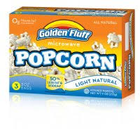 Pop Corn Light Golden Fluff 350g Kosher